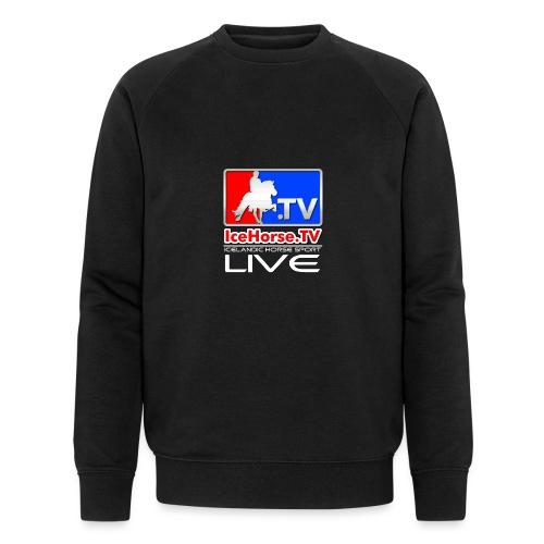 IceHorse logo - Men's Organic Sweatshirt by Stanley & Stella