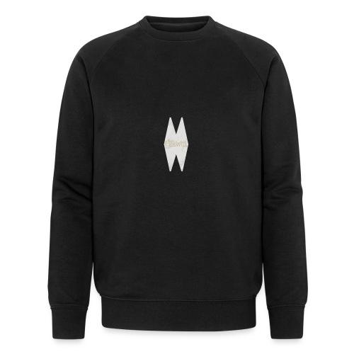 MELWILL white - Men's Organic Sweatshirt