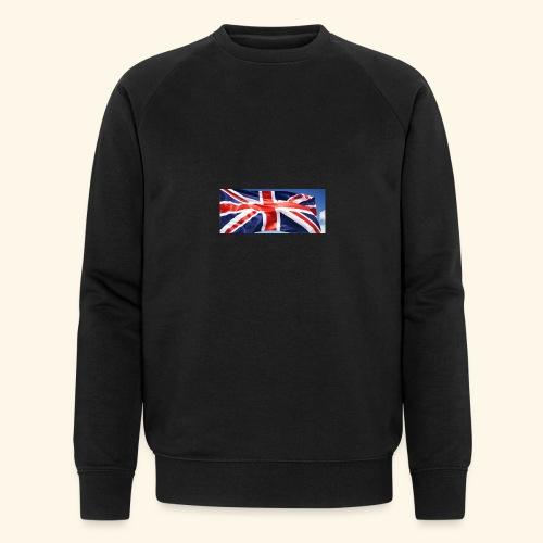 UK flag - Men's Organic Sweatshirt by Stanley & Stella