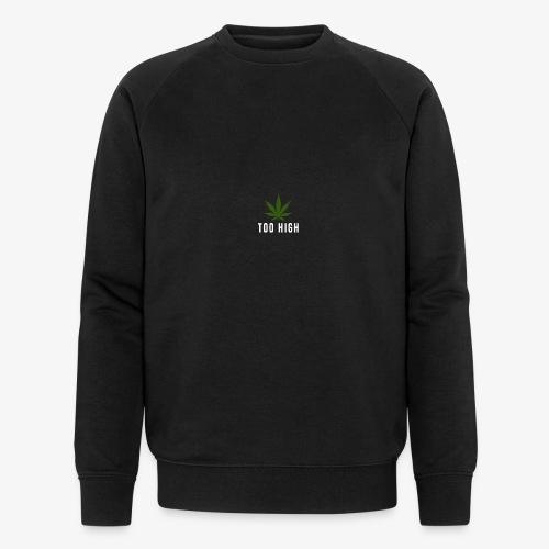 too high design - Mannen bio sweatshirt van Stanley & Stella