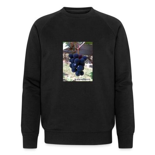Traube - Männer Bio-Sweatshirt von Stanley & Stella