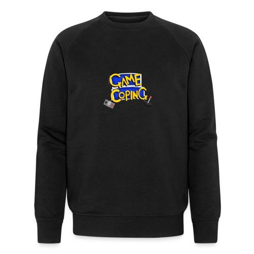 Game Coping Logo - Men's Organic Sweatshirt by Stanley & Stella