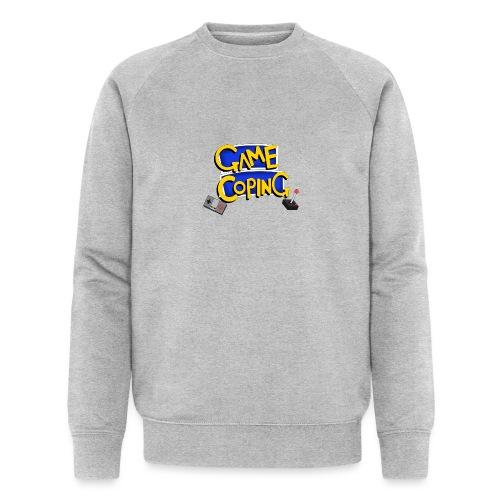 Game Coping Logo - Men's Organic Sweatshirt