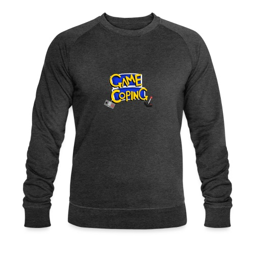 Game Coping Logo - Men's Organic Sweatshirt by Stanley & Stella