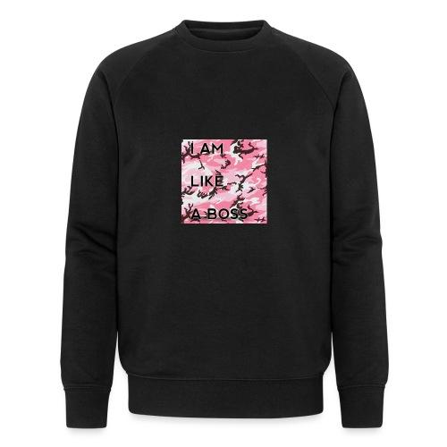 i am loke a boss premium pink camo - Männer Bio-Sweatshirt von Stanley & Stella