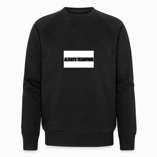 at team - Mannen bio sweatshirt