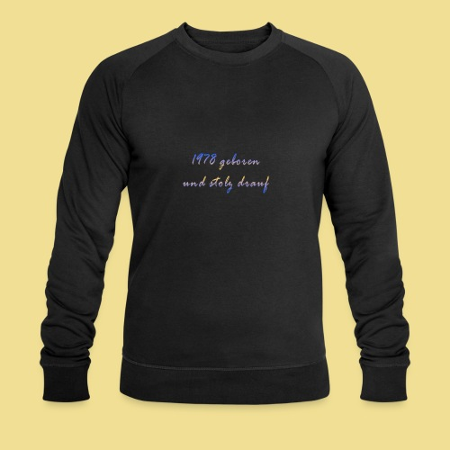 1978 - Männer Bio-Sweatshirt