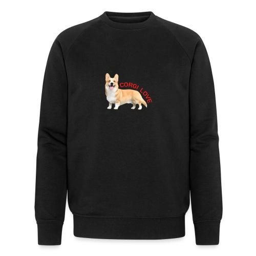 CorgiLove - Men's Organic Sweatshirt by Stanley & Stella