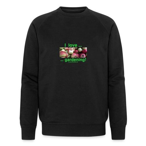 Äpfel - I love gardening! - Männer Bio-Sweatshirt von Stanley & Stella
