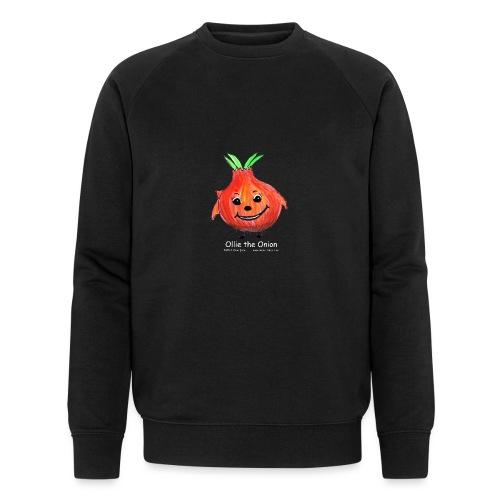mens black T-shirt Ollie the Onion - Men's Organic Sweatshirt