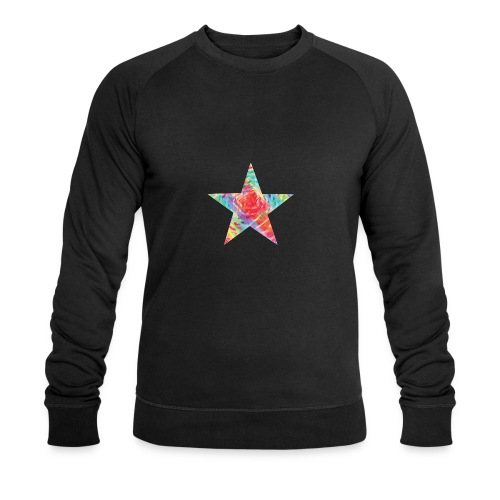 Color star of david - Men's Organic Sweatshirt by Stanley & Stella