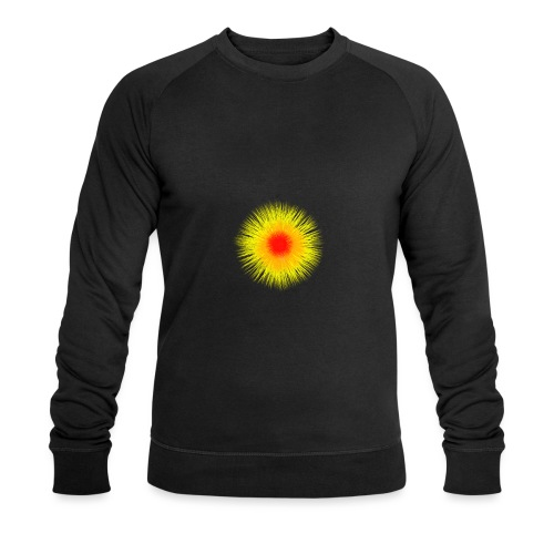 Sonne I - Männer Bio-Sweatshirt