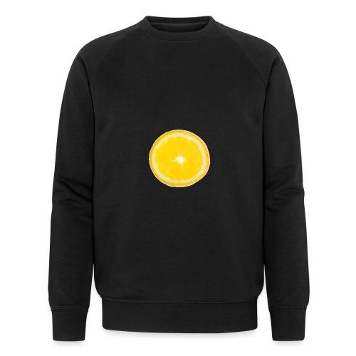 Orange - Männer Bio-Sweatshirt