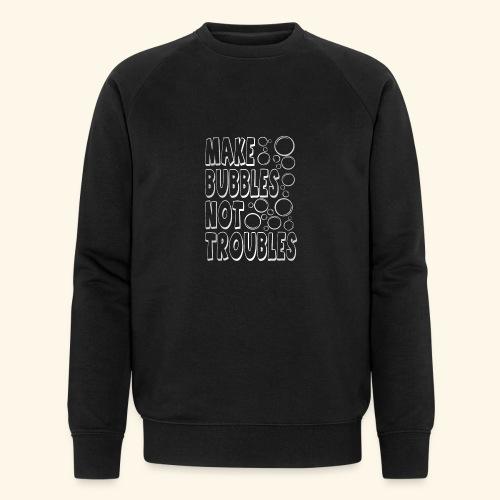 Bubbles003 - Mannen bio sweatshirt