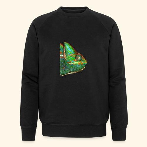 Chamäleon - Männer Bio-Sweatshirt