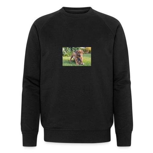 adorable puppies - Men's Organic Sweatshirt by Stanley & Stella