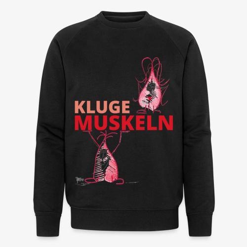 Kluge Muskeln - Männer Bio-Sweatshirt von Stanley & Stella