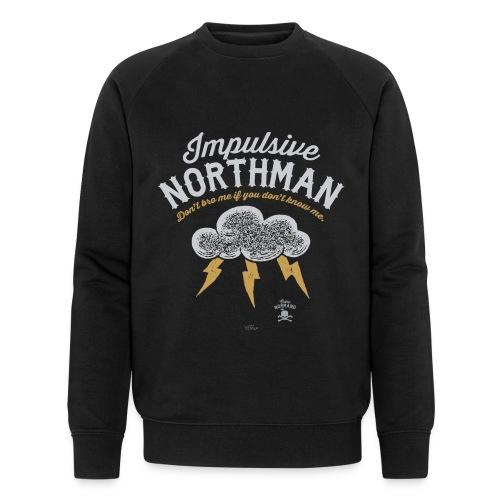 Impulsive Northman - Økologisk sweatshirt til herrer