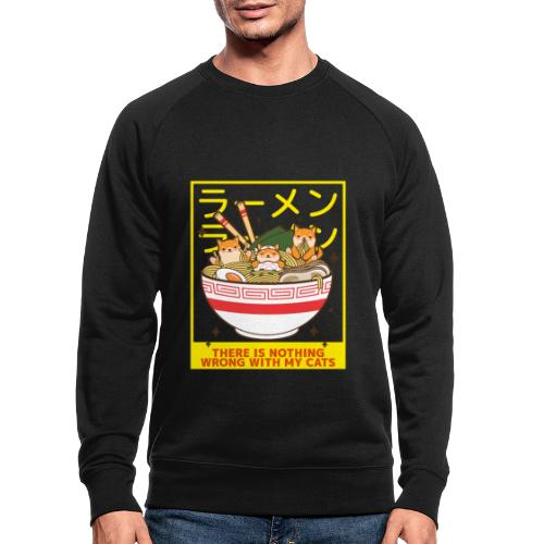 There is nothing wrong with my cats - Animal lover - Sweat-shirt bio
