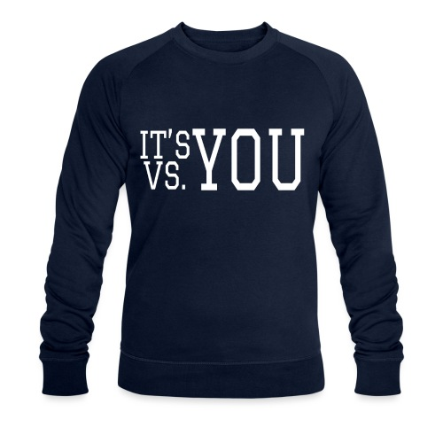 You vs You - Men's Organic Sweatshirt by Stanley & Stella