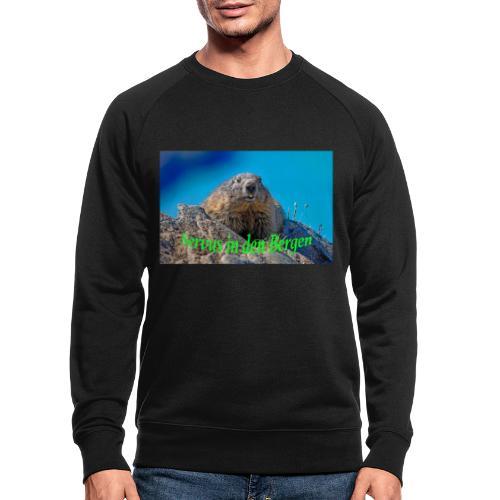 Servus in den Bergen - Männer Bio-Sweatshirt