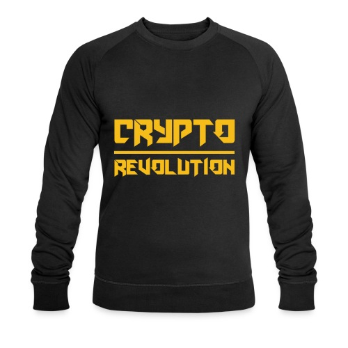 Crypto Revolution III - Men's Organic Sweatshirt by Stanley & Stella