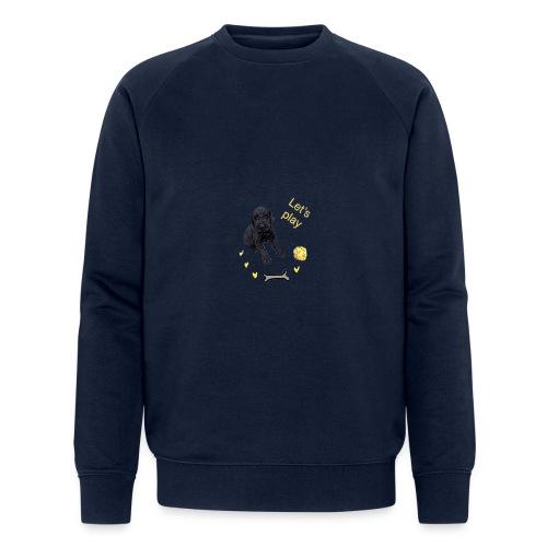 Giant Schnauzer puppy - Men's Organic Sweatshirt by Stanley & Stella