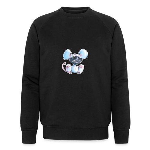 Maskenmaus - Männer Bio-Sweatshirt von Stanley & Stella