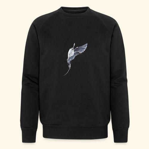 Weißschwanz Tropenvogel - Männer Bio-Sweatshirt