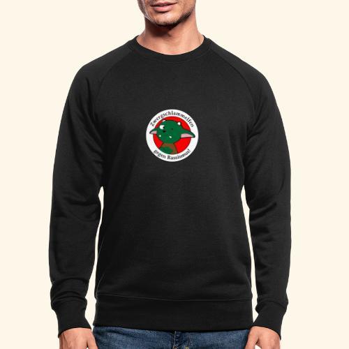 Zwergschlammelfen gegen Rassismus - Männer Bio-Sweatshirt