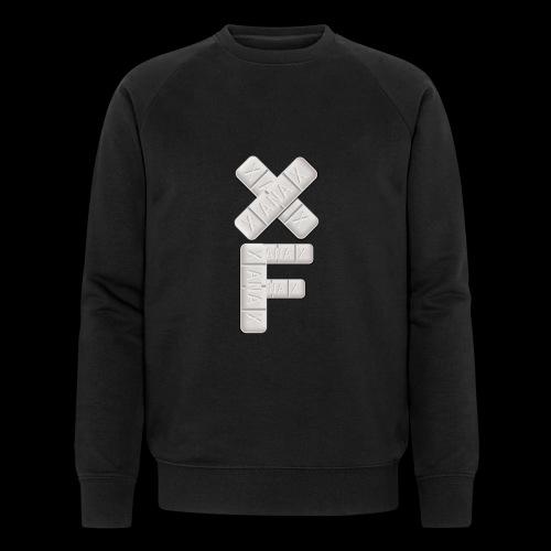 XF Xanax Logo - Männer Bio-Sweatshirt