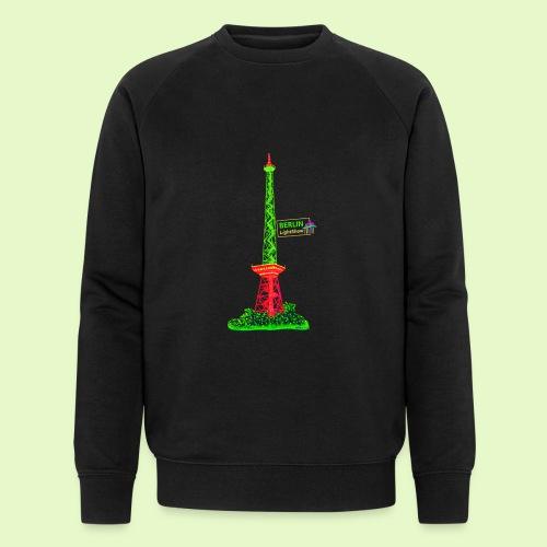 Funkturm / BerlinLightShow / PopArt Style - Männer Bio-Sweatshirt von Stanley & Stella