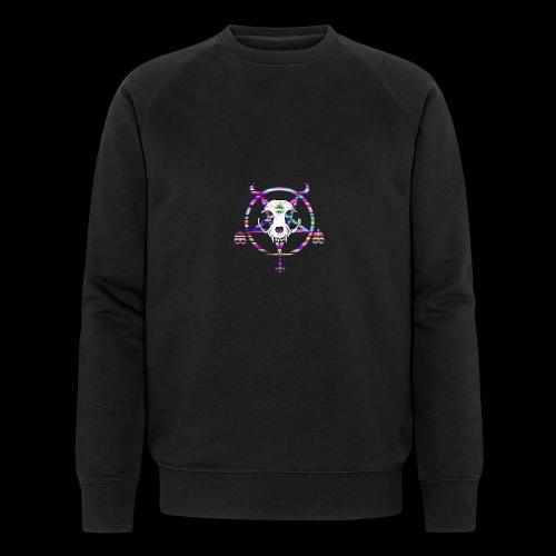 glitch cat - Sweat-shirt bio