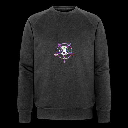 glitch cat - Sweat-shirt bio Stanley & Stella Homme