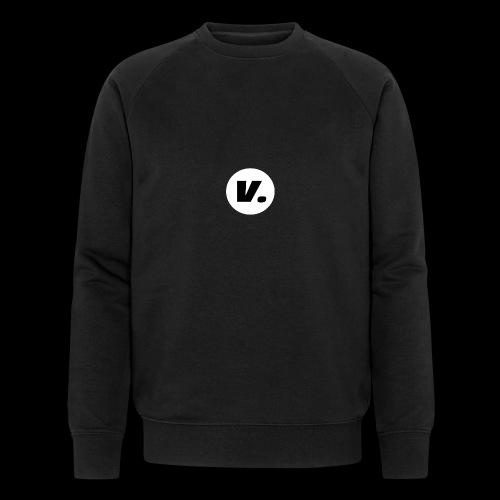 Ventura Black V Logo - Mannen bio sweatshirt