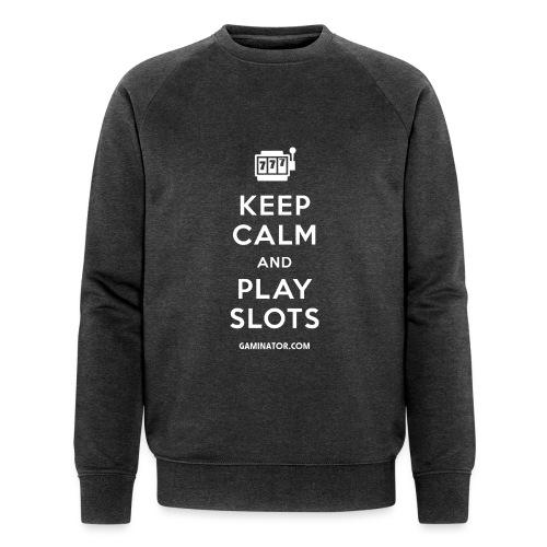 Keep Calm and Play Slots - Men's Organic Sweatshirt by Stanley & Stella