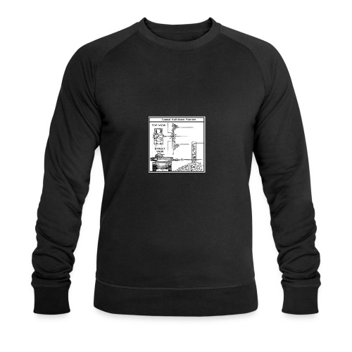 W.O.T War tactic, tank shot - Men's Organic Sweatshirt by Stanley & Stella