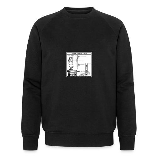 W.O.T War tactic, tank shot - Men's Organic Sweatshirt