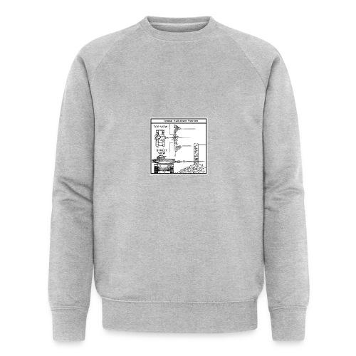 W.O.T War tactic, tank shot - Men's Organic Sweatshirt by Stanley & Stella