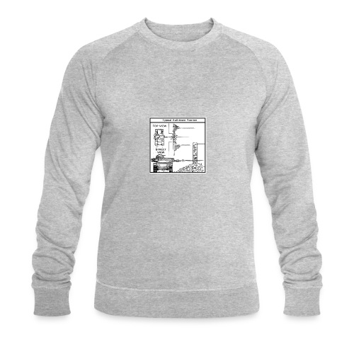 W.O.T War tactic, tank shot - Men's Organic Sweatshirt