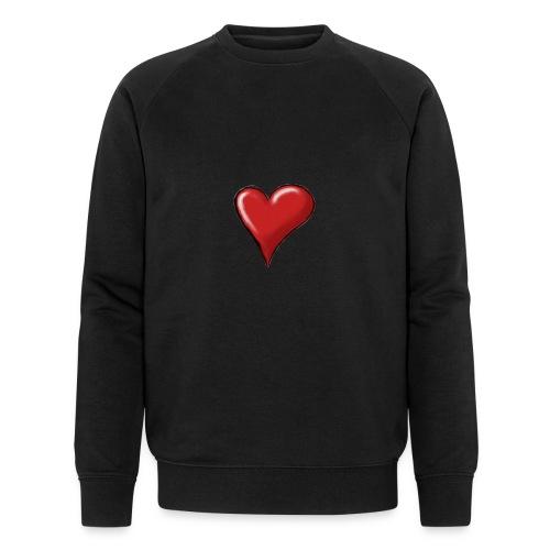 Love (coeur) - Sweat-shirt bio Stanley & Stella Homme