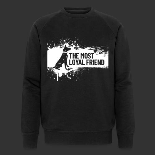 The most loyal friend - Men's Organic Sweatshirt by Stanley & Stella