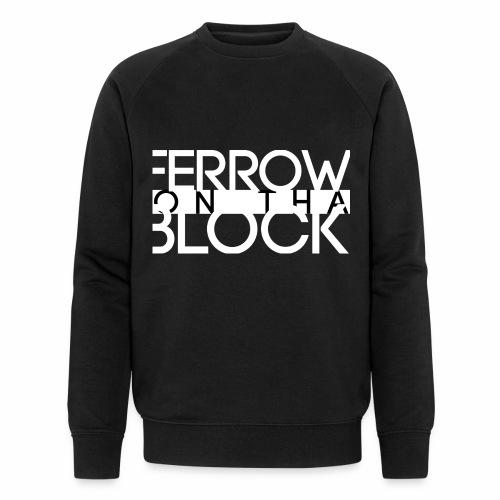 ferrowONblackv4 - Mannen bio sweatshirt