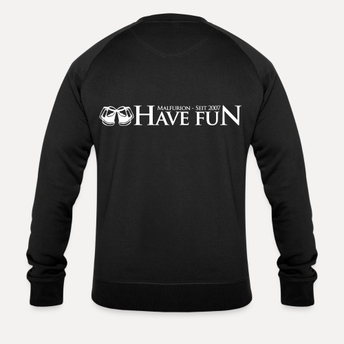Logo Have Fun Malfurion - Männer Bio-Sweatshirt von Stanley & Stella