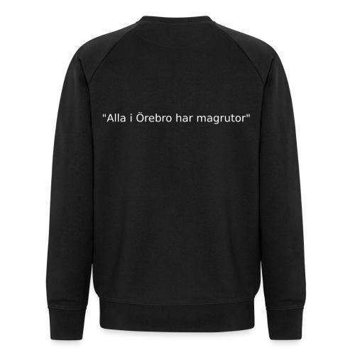 Ju jutsu förslag 2 version 1 vit text - Ekologisk sweatshirt herr från Stanley & Stella
