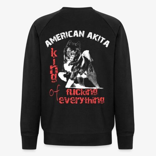 American Akita - King of fucking everything - Men's Organic Sweatshirt
