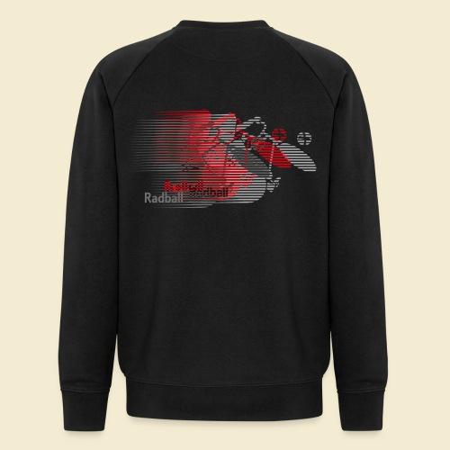 Radball   Earthquake Red - Männer Bio-Sweatshirt von Stanley & Stella