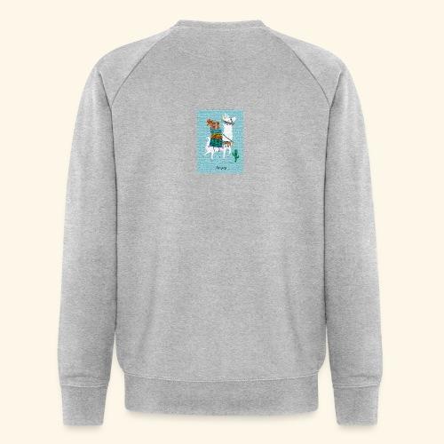 Lama Gang - Männer Bio-Sweatshirt