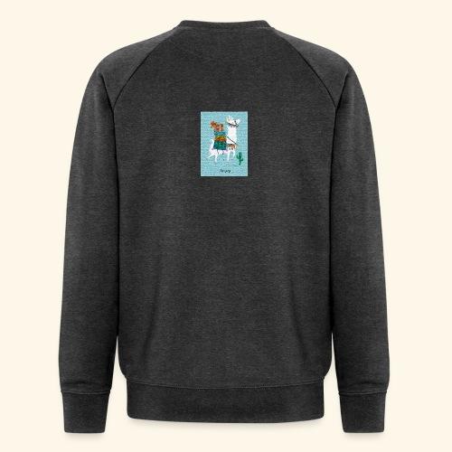 Lama Gang - Männer Bio-Sweatshirt von Stanley & Stella