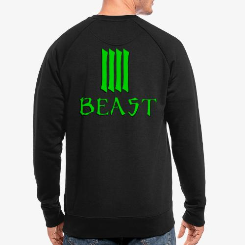 Beast Green - Men's Organic Sweatshirt